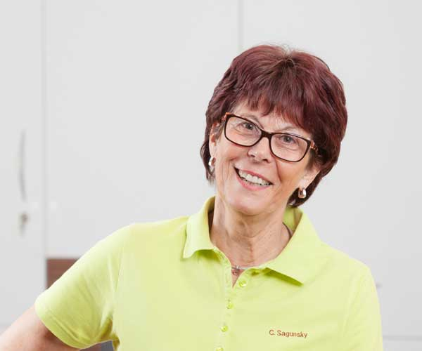 Frau Claudia Sagunsky