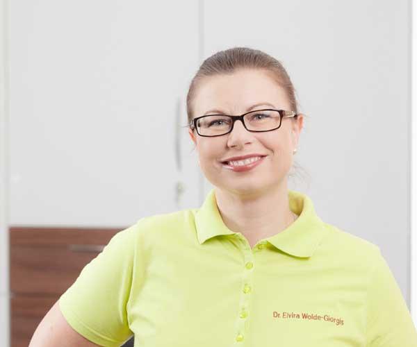 Frau Dr. Elvira Wolde-Giorgis